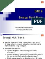 Bahan Kuliah Managemen Strategis-10-Strategi Multibisnis