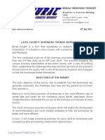 Lamu Business Survey Document