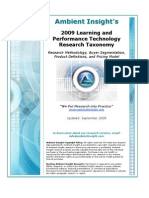 Ambient Insight Learning Technology Taxonomy