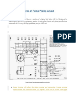 General Guidelines of Pump Piping Layout