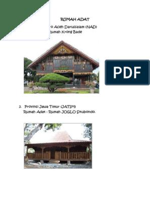 Rumah Joglo Situbondo Jawa Timur Rumah Joglo Limasan Work