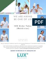IVD Order Taker
