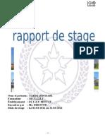 Rapport de Stage TARIQ