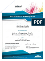 primary connections ready cert sa