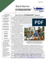 SUMMER 2006 Black Warrior Riverkeeper