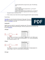 Digital Logic and Design (BASIC GATES)