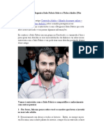 Entrevista Com Blogueiro Italo Fabris Sobre o Nicho Adulto