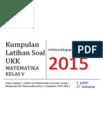 Kumpulan Soal UKK Matematika Kelas 5.pdf