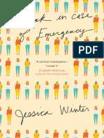 Break In Case of Emergency, Jessica Winter - Extract
