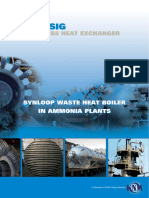 BORSIG Process Heat Exchanger - Synloop Waste Heat Boiler in Ammonia Plants