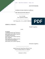 Derrick Averhart v. Warden, 11th Cir. (2014)