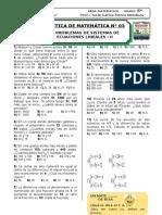 PRACT. N° 03 - PROBLEMAS DE SISTEMA DE ECUACIONES - II.doc