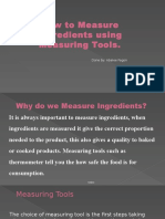 how to use measure tools