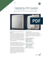 PTP500 Specs