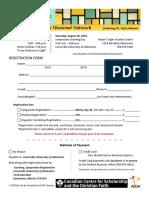 symposium registration form fillable