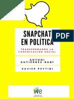 Snapchat y Politica