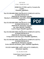 Carneiro Da Cunha v. Standard Fire, 129 F.3d 581, 11th Cir. (1997)