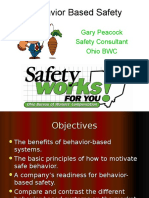 Behavior Based Principles