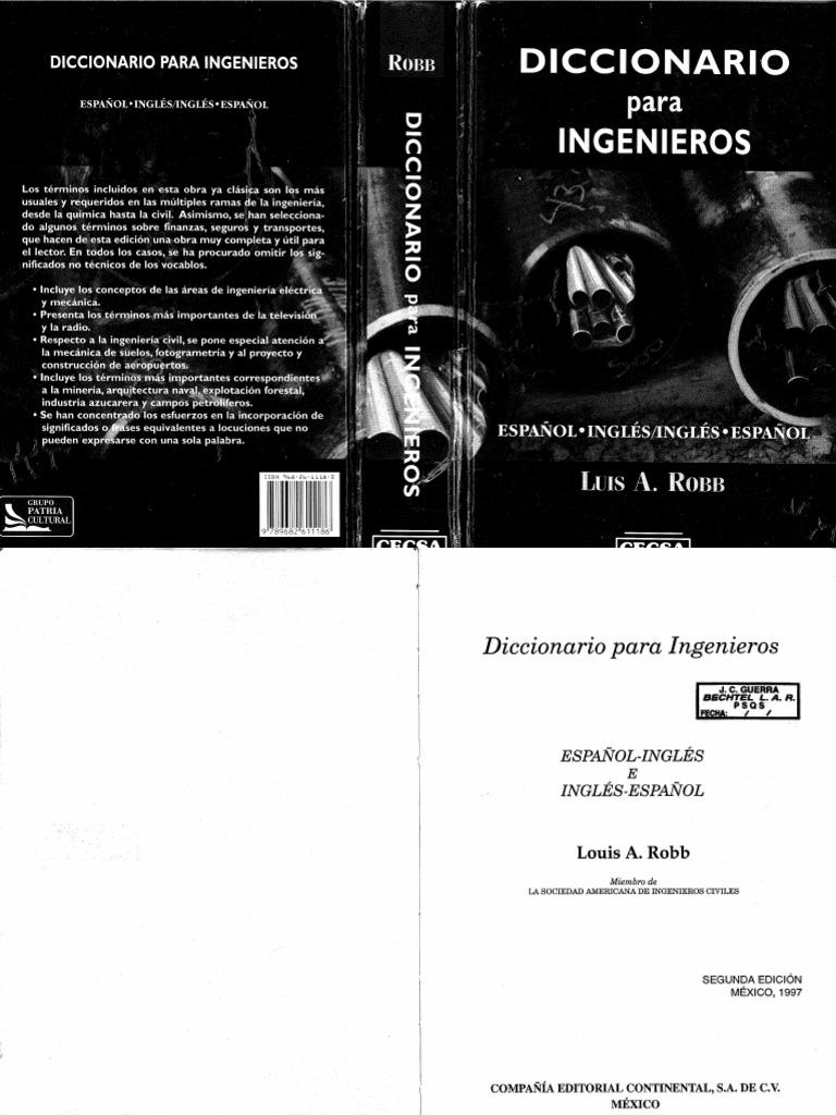 Diccionario Para Ingenieros 36d4d3e990350
