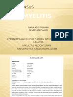 Lapkas Myelitis