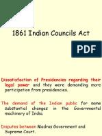 1861 Indian Councils Act