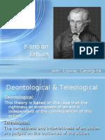 Kantian Ethics Elainejemgeorgina