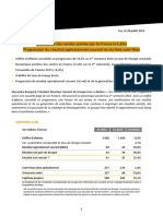Résultats 1er semestre 2016 Fnac