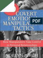 30 Covert Emotional Manipui