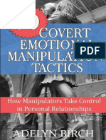 30 Covert Emotional Manipui
