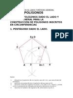 Polígonos Dado El Lado y Método