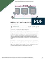 Automotive CAN Bus System Explained _ Kiril Mucevski _ Pulse _ LinkedIn