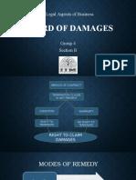 Award of Damages