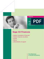 PLQ Sage X3 Finances