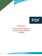 Prospectus PGDBA