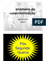 A Descolonizacao 2014