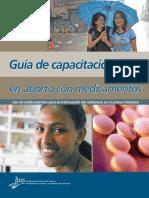 Guía de capacitación en aborto con medicamentos, Ipas