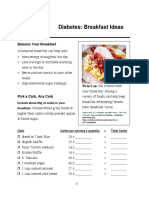 Diabetes BreakfastIdeas