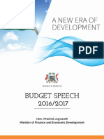 Budget 2016-17 dans son intégralité
