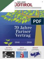 Pariser Vertrag 70Jahre Das Land Südtirol 0716