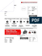 Boarding Pass AA Perth