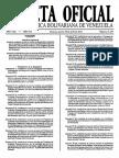 Gaceta Oficial Ley Organica Del Trabajo Sobre El Tiempo de Trabajo