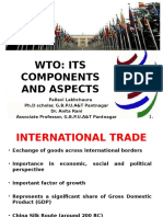 WTO and Its Components