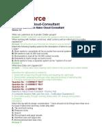Sales Force Consultant Part 1