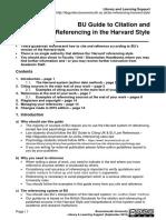 2015 BU Referencing Guide Harvard