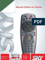 manual online do cliente sky+