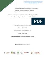 La enseñanza y el aprendizaje de estrategias cognitivas y metacognitivas para la producción de textos expositivos y narrativos