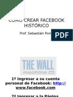 Como Crear Facebook Histórico
