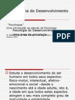 A Psicologia Do Desenvolvimento 2011
