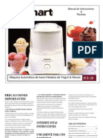 Cuisinart ice & sorbette maker manual in spanish español