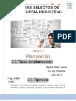 2.1 Planeacion Estrategica